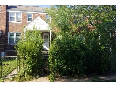 3 Bed 1 Bath Foreclosure Property in Brooklyn, MD 21225 - Cambria St