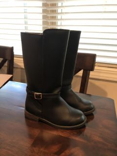 Adorable Gymboree Girls Tall Boots - size 11