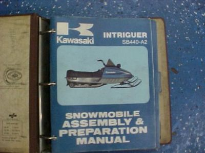 Purchase Kawasaki Manuals for Snowmobiles Intriguer, Inviter, Invader, ETC *VINTAGE*RARE* motorcycle in Coldwater, Michigan, United States, for US $85.00