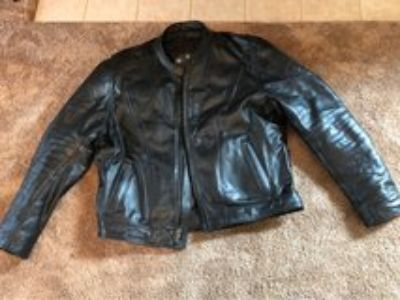 men s leather motorcycle jacket