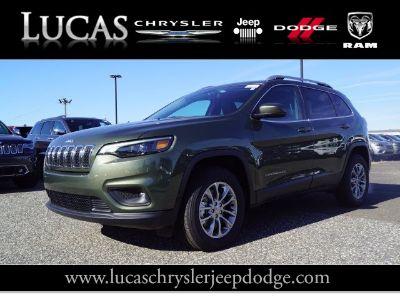 2019 Jeep Cherokee (Olive Green Pearlcoat)