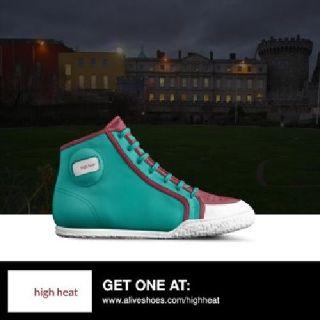 high heat sports hight top designer shoes