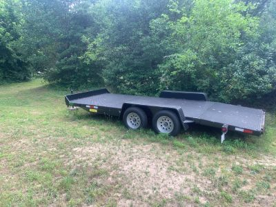 FOR SALE OPEN CAR TRAILER