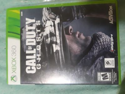 Call of duty ghost Xbox 360