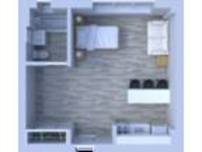 Beachwalk Apartments - Studio Floor Plan S3