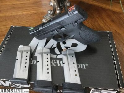 For Sale: Performance Center 9mm S & W Shield