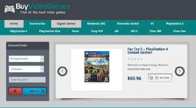 Video game store online! Selling games, accessories, consoles etc