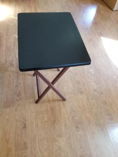 TV tray/table - solid wood
