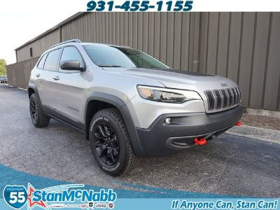 2019 Jeep Cherokee Trailhawk (Billet Silver Metallic)