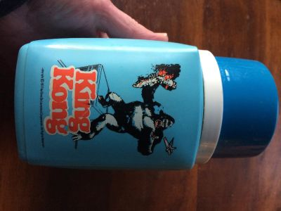 Vintage 1977 King Kong thermos