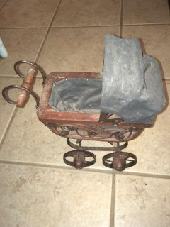Small,Vintage Baby Carriage