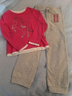Gymboree outfit 7/8