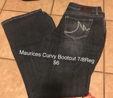 Maurices Jeans 7/8Reg