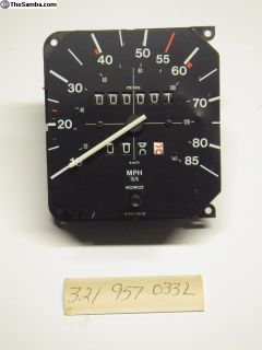 NOS 321957033L Rabbit Speedometer Motometer