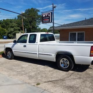 1999 GMC Sierra 1500 SLE (WHITE)