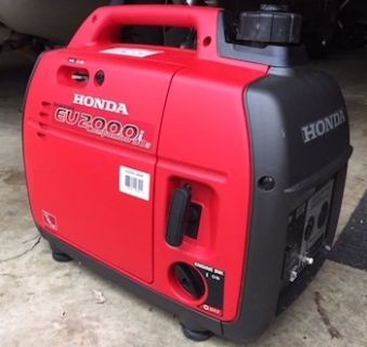 Two Honda generators