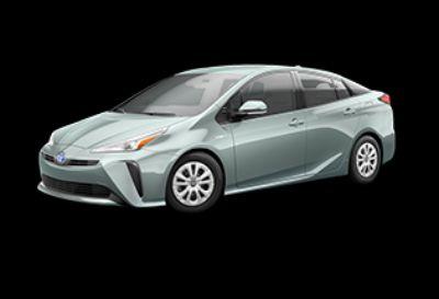 2019 Toyota Prius L Eco (Sea Glass Pearl)