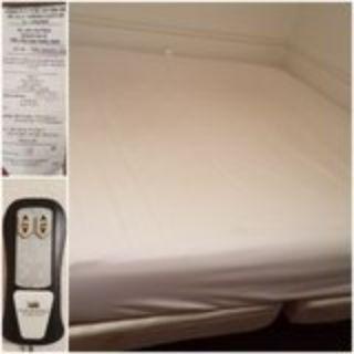 King size memory foam adjustable bed