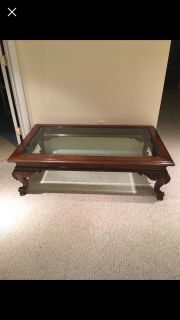 Classic vintage style coffee table