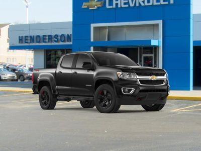 2018 Chevrolet Colorado 4WD LT (Black)