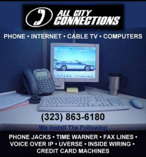 SPECTRUM INTERNET Office Installation PHONE JACKS