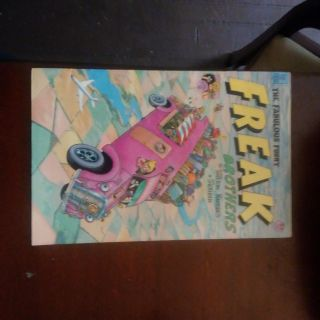 The fablous furry freak brothers comic