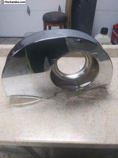 Fan shroud w/o oil cooler