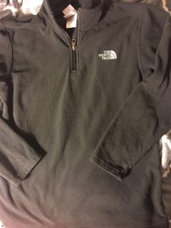 Boys large north face sweater