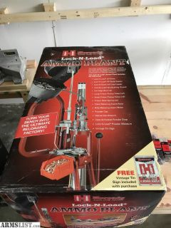 For Sale: Hornady Lock-N-Load Ammo Plant + Extras