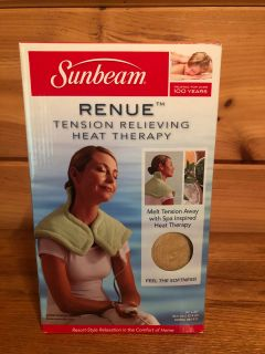 Sunbeam Renue Tension Relieving Heat Therapy