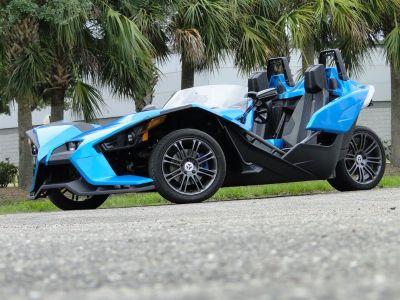 2015 POLARIS Slingshot Titanium Metallic (Blue)