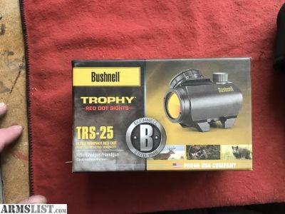 For Sale/Trade: Sightmark and bushneil trs 25