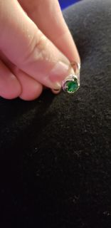 Sz.7 womens ring sterling silver