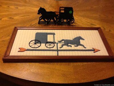 Horse & Buggy Decor