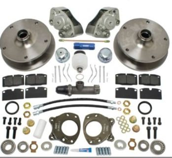FRONT DISC BRAKE KIT, TYPE 2 64-66