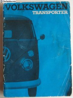 1966 Bus Owners Manual August 1965