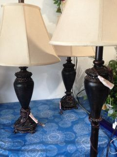 Lamps set of 3