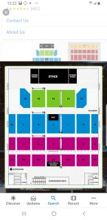 4 Earth Wind and Fire Tickets Casino Rama - can split to pairs
