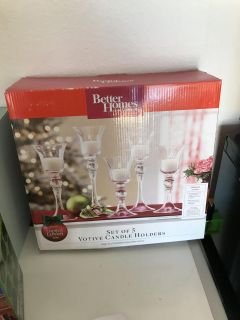 Better homes and gardens votive candle holders