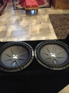 Kicker speakers and