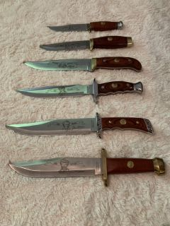 Bowie Knives Wild West Collection