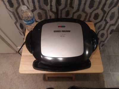 Foreman grill... never used