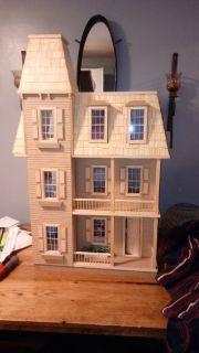 Wooden Victorian Mansion