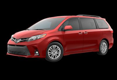 2020 Toyota Sienna XLE Auto Access Seat (Salsa Red Pearl)