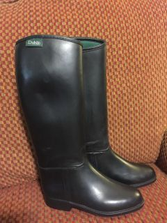 Dublin Youth Rubber Waterproof riding boots