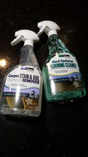 Carpet and Hardwood cleaners