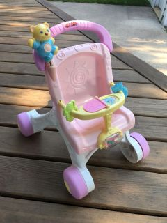 Fisher Price First Walker stroller, great condition!