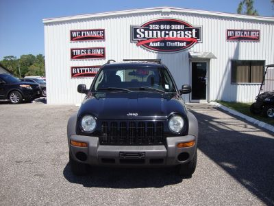 2004 Jeep Liberty Sport (Black)
