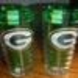 2 GREEN BAY PACKERS 16 OZ. TUMBLERS - BRAND IS TERVIS - NEW