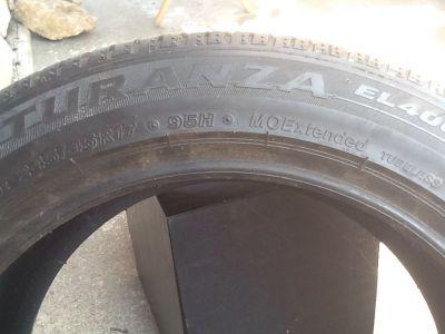 Bridgestone Turanza used tire 245/45/R17